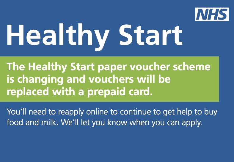 The new Healthy Start Scheme leaflet